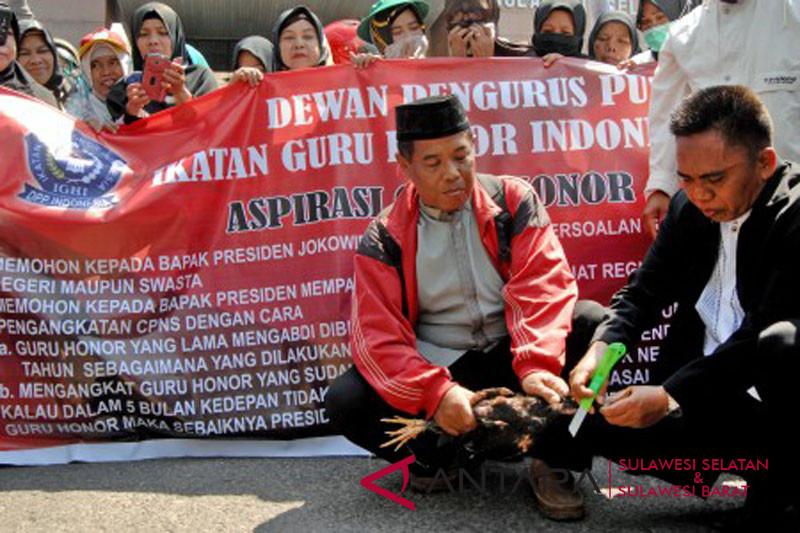 Demo guru honorer