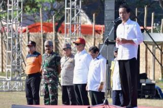 Presiden : Bangun NTB Kembali Dengan Konstruksi Rumah Tahan Gempa