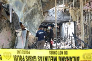 Kebakaran ruko kembali terjadi di Makassar, dua korban tewas