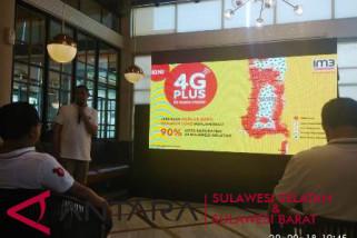 Jaringan 4G Indosat jangkau 21 daerah Sulsel