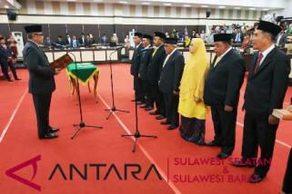 Tujuh legislator PAW DPRD Sulsel dilantik