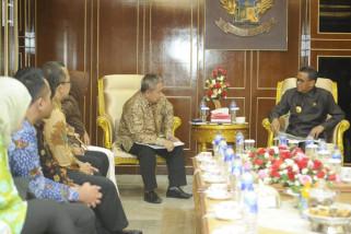 BPJS Ketenagakerjaan temui gubernur bahas sinergitas program