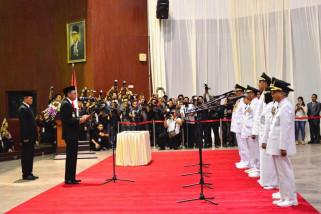 Gubernur lantik Ashari sebagai Penjabat Sekda Sulsel