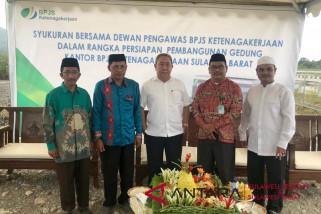 BPJS Ketenagakerjaan Sulbar bangun kantor senilai Rp20 miliar