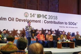 Jokowi:  sektor kelapa sawit membanggakan