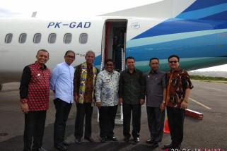 Garuda terbangkan Humanity Flight angkut petugas kemanusiaan