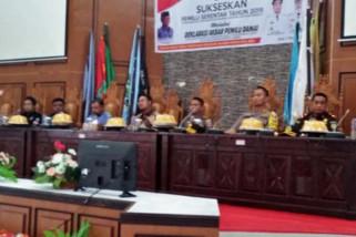 Kabupaten Sinjai Deklarasi akbar Pemilu Damai