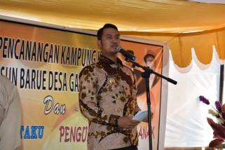 Bupati Sinjai canangkan Kampung KB Dusun Barue