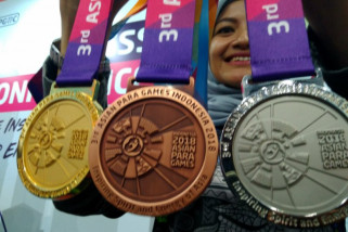 Daftar perolehan medali Asian Para Games 2018 (Senin malam)