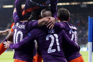 Manchester City pukul balik  TSG Hoffenheim