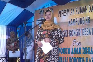 Wabup Sinjai resmikan Rumah Dataku Dusun Bongki-Bongki