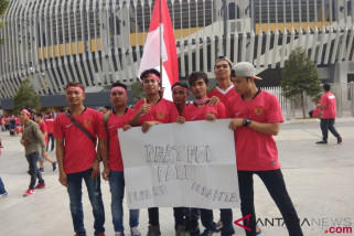 Suporter Indonesia di Malaysia berduka untuk korban gempa Palu-Donggala