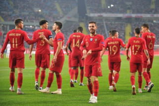 Tanpa Ronaldo, Portugal tundukkan Polandia 3-2