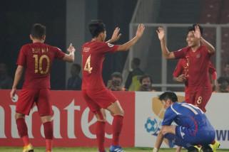 Timnas Indonesia tekuk Taiwan 3-1 Piala U-19 Asia 2018