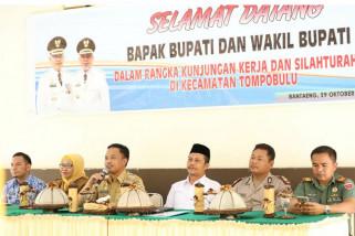 Bupati Bantaeng kunjungi Kecamatan Tompobulu pererat silaturrahmi