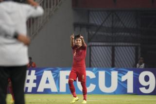 Gol Witan Sulaeman loloskan Indonesia ke perempat final