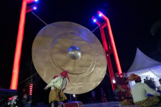 Gong  SMK Sulsel pecahan Rekor MuRI
