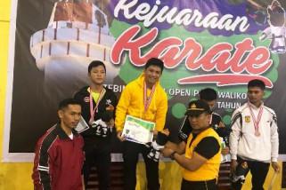 Karateka Sulsel rebut empat emas kejuaraan terbuka