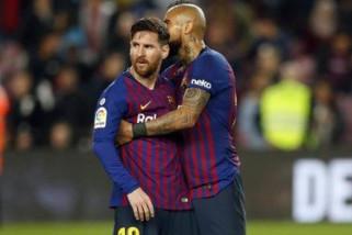 Barcelona tetap di puncak klasemen, meski dipermalukan Real Betis