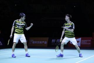 Pasangan Minions rebut gelar juara China Terbuka 2018