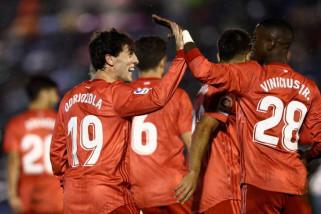 Debut Solari, Madrid gilas Melilla
