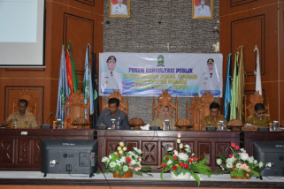 Pemkab gelar forum konsultasi publik  RPJMD Sinjai 2018-2023