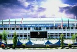 Komandan KRI Banjarmasin-592 Kunjungi Bitung