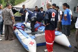 Atraksi Penyelamatan Korban Tsunami Warnai ARF-Direx