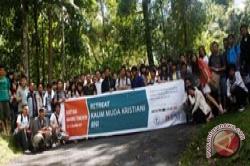 BNI Gelar Retret Kaum Muda Di Bukit Doa Mahawu