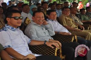 Trio pemkot Manado hadiri festival seni budaya Bantik
