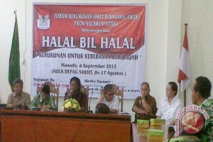 Dialog tokoh agama  tentang kerukunan kebebasan beribadah