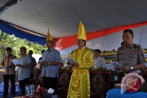 Penghuni Pulau Manado Tua Gelar Tulude
