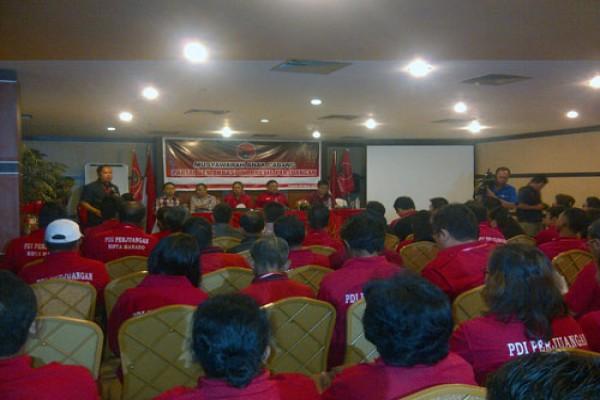 PDIP Manado deklarasikan Dondokambey balon Gubernur Sulut