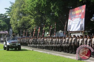 Polda Sulut peringati Hari Bhayangkara ke-69