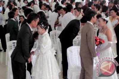 Pemkab Minahasa Tenggara kembali gelar nikah massal