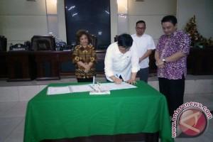 DPRD-Pemkot Manado tandatangani kesepakatan KUA-PPAS 2016