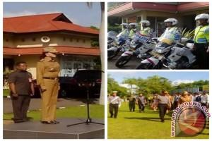 Polres Minahasa Utara Gelar Pasukan Operasi Simpatik