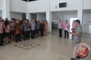 ASN Minahasa Tenggara Diminta Perhatikan Kehadiran Kerja