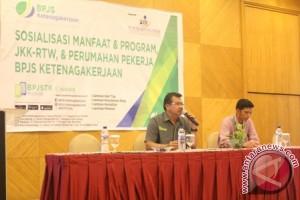 BPJS Ketenagakerjaan Sosialisasi Manfaat JKK-RTW di Manado