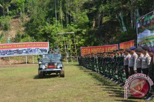 Gubernur Sulut buka TMMD Ke-96 Di Minsel