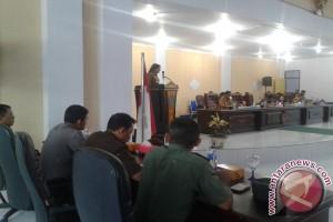 DPRD Minahasa Utara Paripurna LKPJ