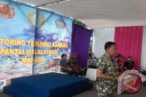 Korps Marinir monitoring terumbu karang SOLL