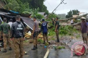 Evakuasi warga Kodim Sangihe turunkan 146 personel
