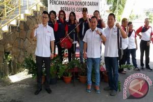Gubernur-wagub Sulut canangkan donor darah berbasis gereja