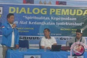 DPI KNPI Sulut kembali gelar dialog dengan OKP