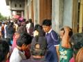 Warga antusias mengikuti penghitungan suara Pilhut Minahasa
