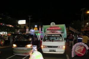 1.500 Kendaran Ikut Pawai Takbiran Di Manado
