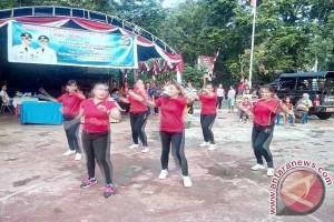 Meriah HUT Manado di Kecamatan Bunaken Darat