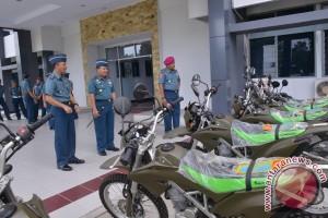Lantamal Manado terima  kendaraan dinas dari Mabes