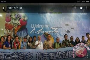 Sriwijaya Angkut Wisatawan Tiongkok Tiba di Manado